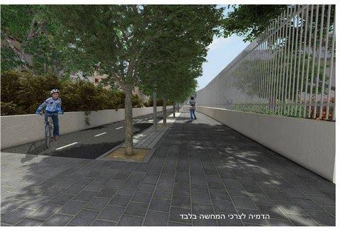 בית הספר גיבורי ישראל בקטע יד לבנים לה גארדיה - מתוכנן
