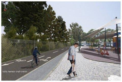 רחוב המערכה - יד לבנים - מתוכנן