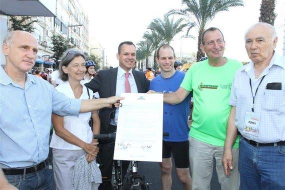 אמנת בריסל לקידום תחבורת אופניים