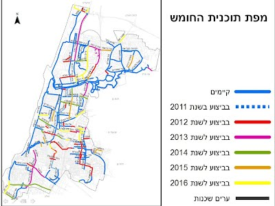 tlv bicycle tracks planned 2016