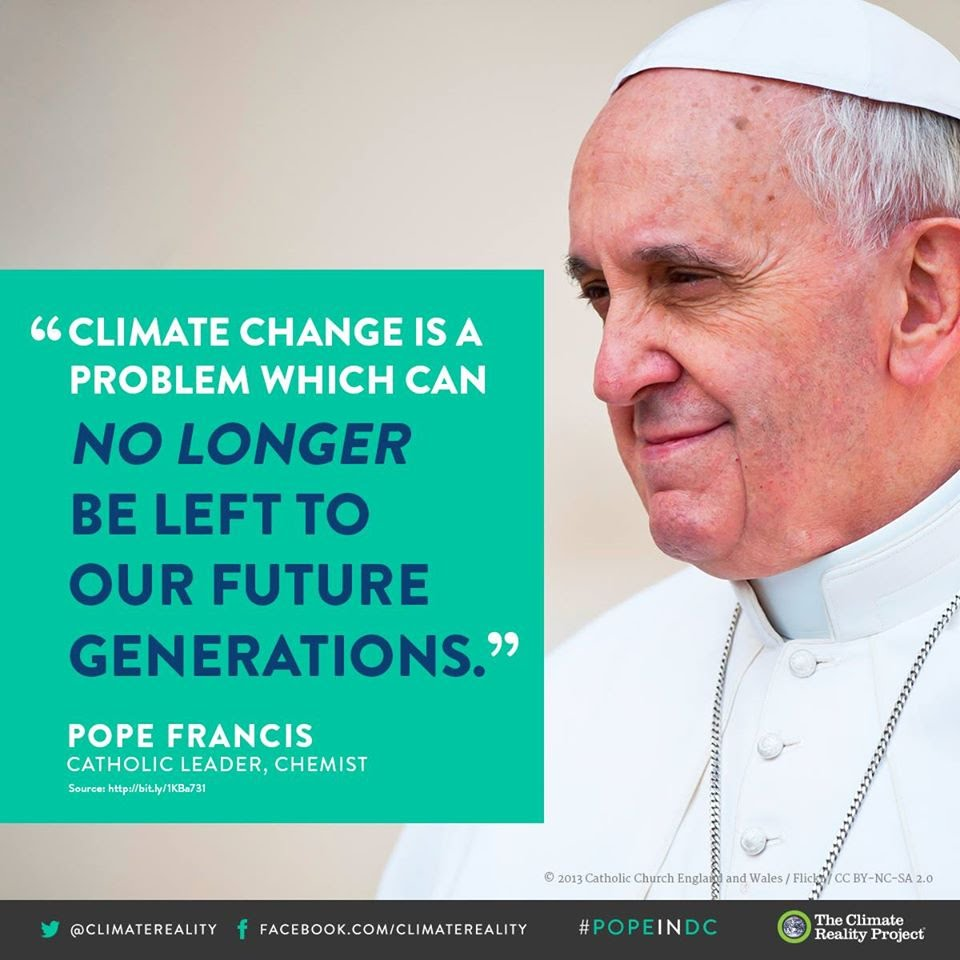 pope francis climate change